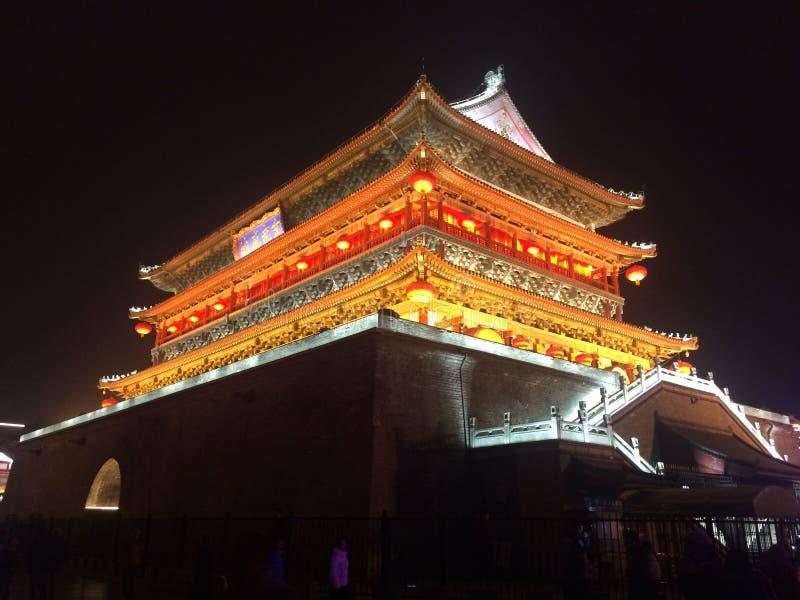 Torre del tambor de Xi& x27;  fotografía de archivo