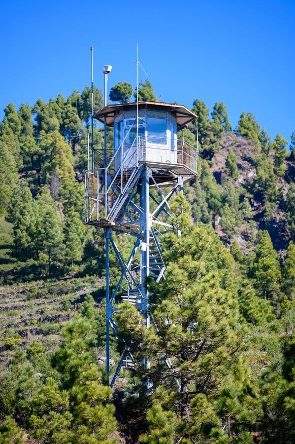 Torre del Time sur la La Palma images libres de droits