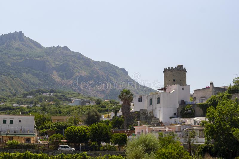 Torre del torone ischia royalty free stock photo
