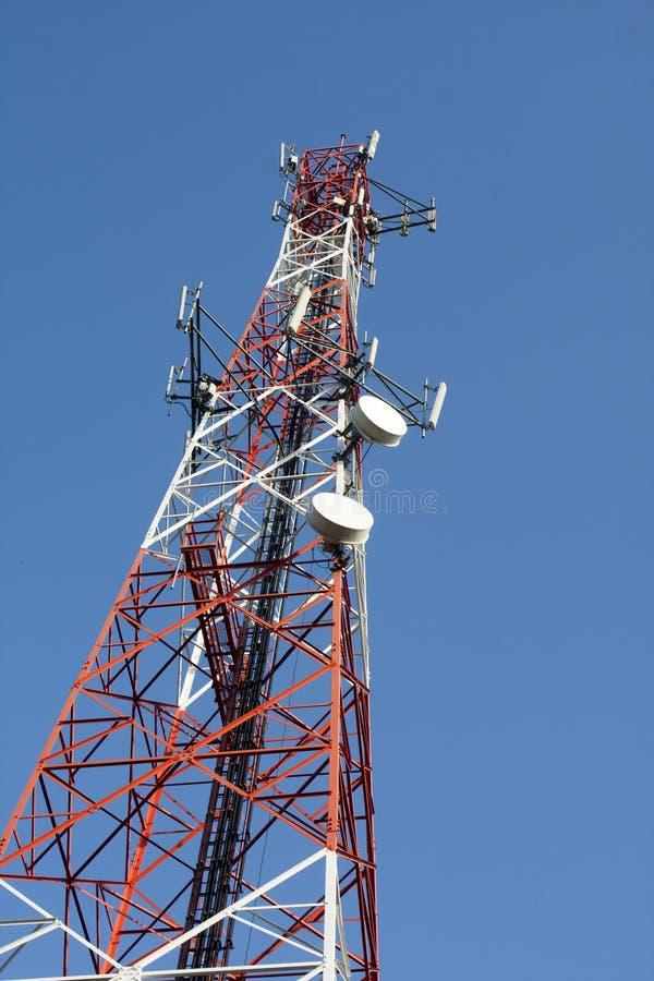 Torre del transmisor imágenes de archivo libres de regalías