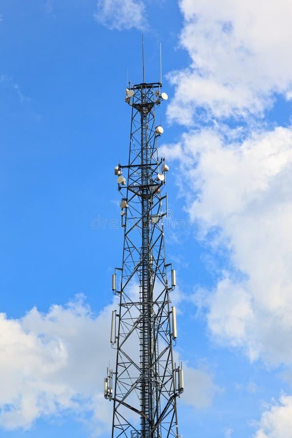 Torre del transmisor foto de archivo