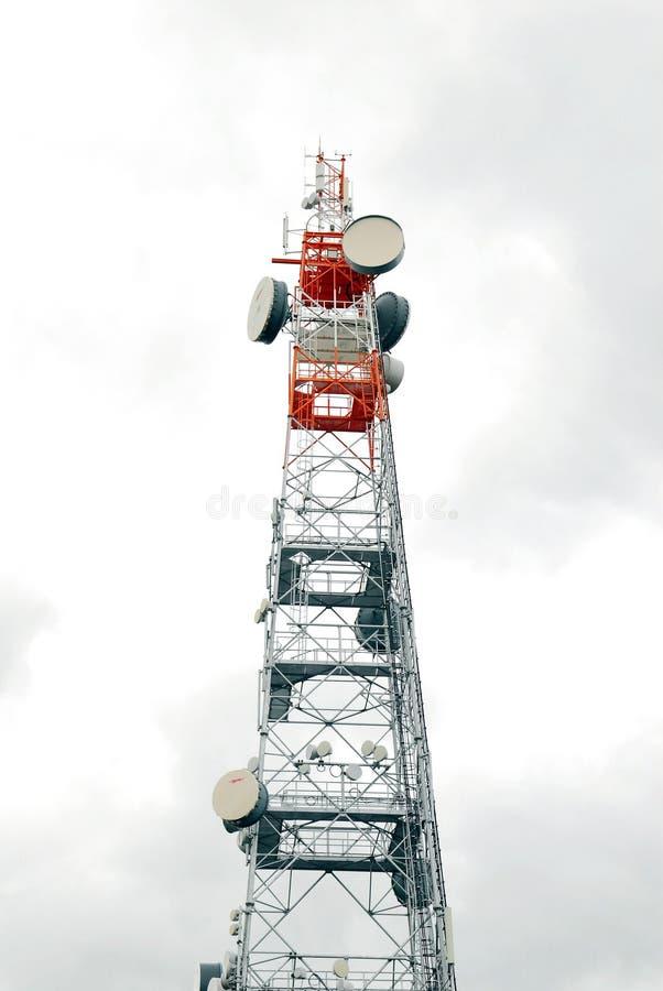 Torre del transmisor imagen de archivo libre de regalías