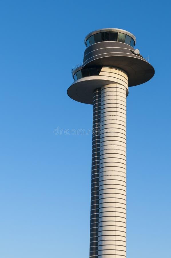 Torre dell'aeroporto di Arlanda fotografia stock