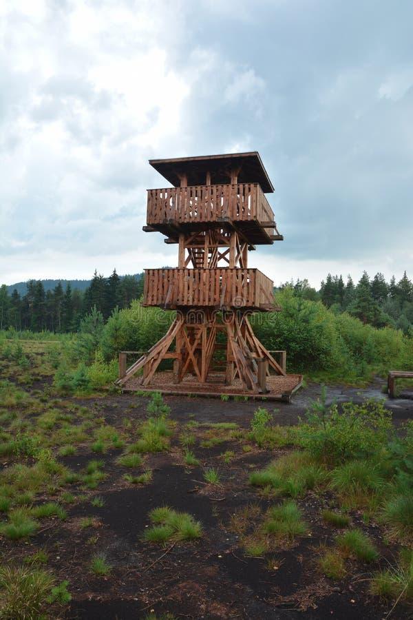 Torre dell'allerta del raseliniste di Soumarske immagine stock libera da diritti