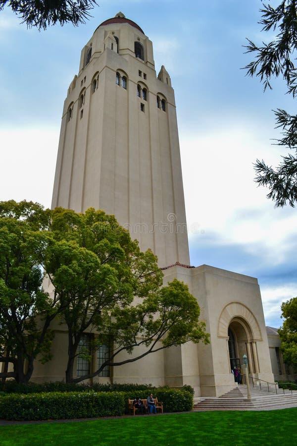 Torre dell'aspirapolvere a Stanford University immagine stock