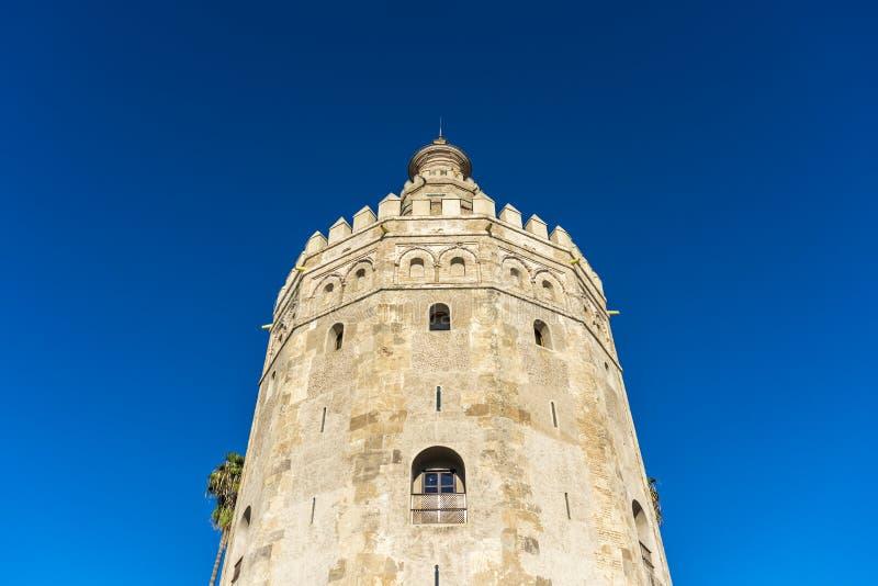 Download Torre Dell'oro In Siviglia, Spagna Del Sud Fotografia Stock - Immagine di provincia, southern: 55360580