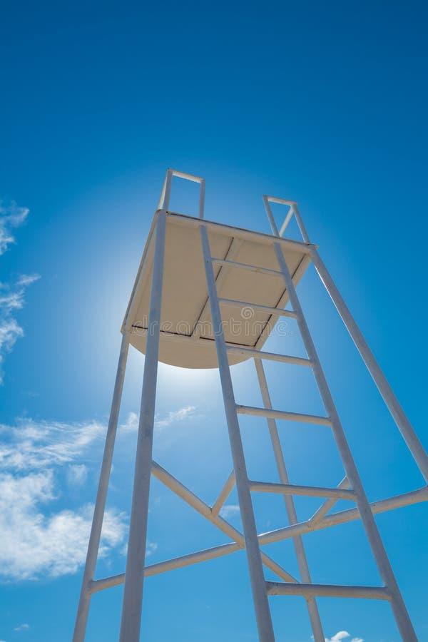 Torre dell'orologio del bagnino immagini stock libere da diritti