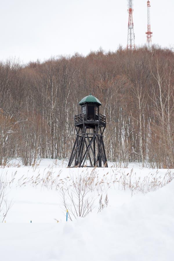 Torre dell'orologio della prigione fotografia stock libera da diritti