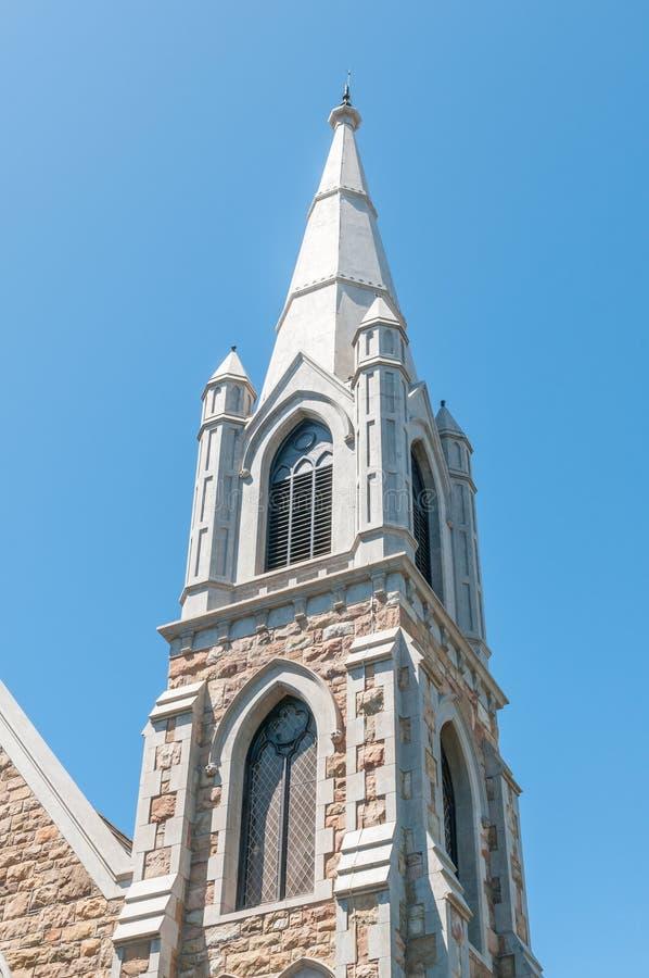 Torre della chiesa metodista di St Johns a Port Elizabeth immagini stock libere da diritti