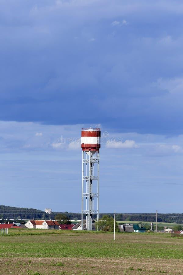 Torre della torre di acqua, fotografie stock libere da diritti