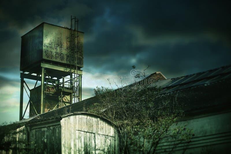 Torre della fabbrica immagine stock