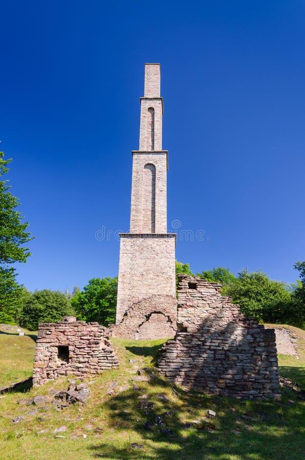 Torre della fabbrica di Alun immagini stock libere da diritti