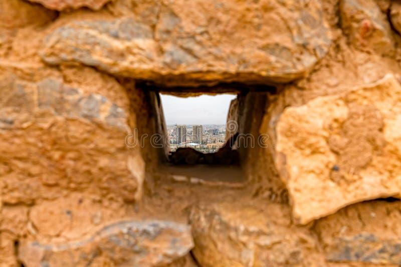 Torre della finestra di silenzio alla cima immagine stock