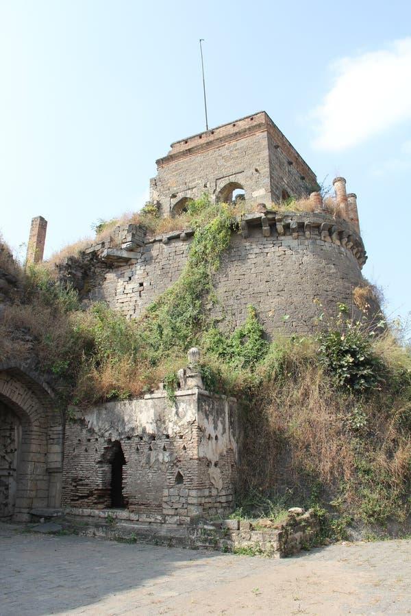 Torre della fortificazione di Ausa fotografie stock libere da diritti