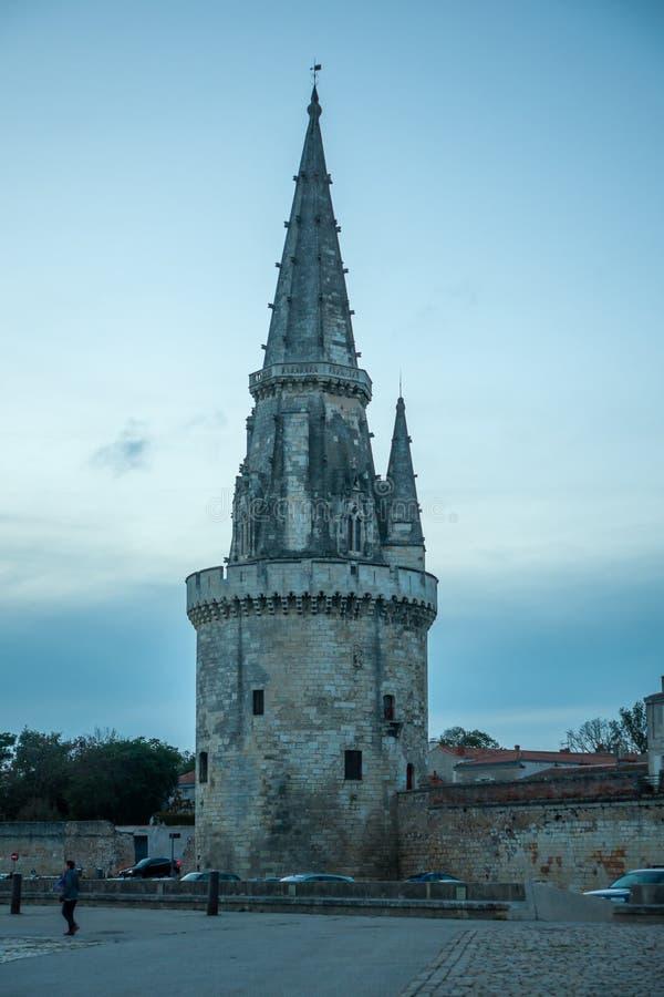 Torre della lanterna, La Rochelle immagine stock