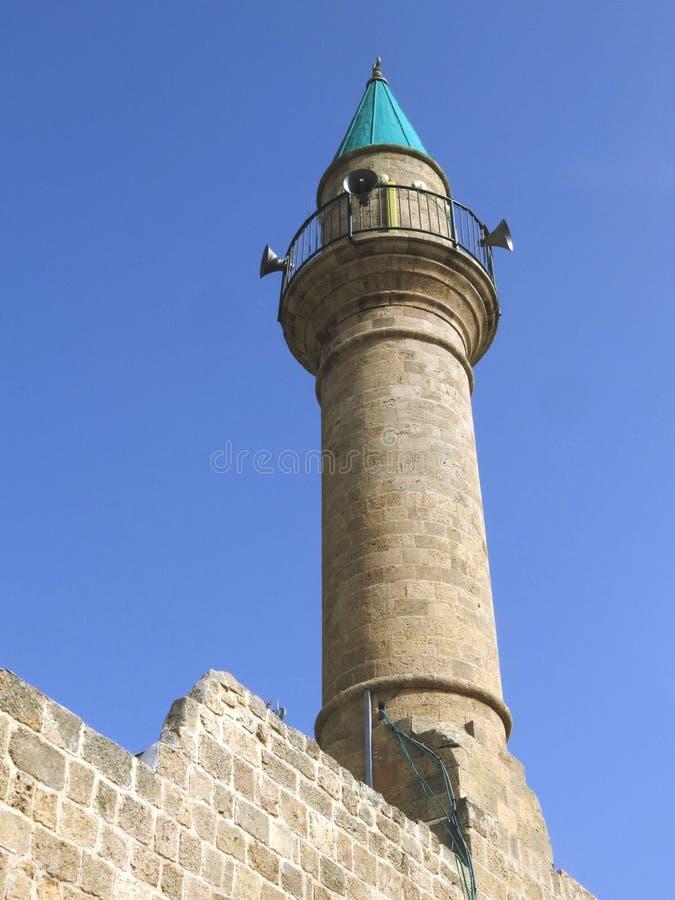 Torre della moschea fotografia stock