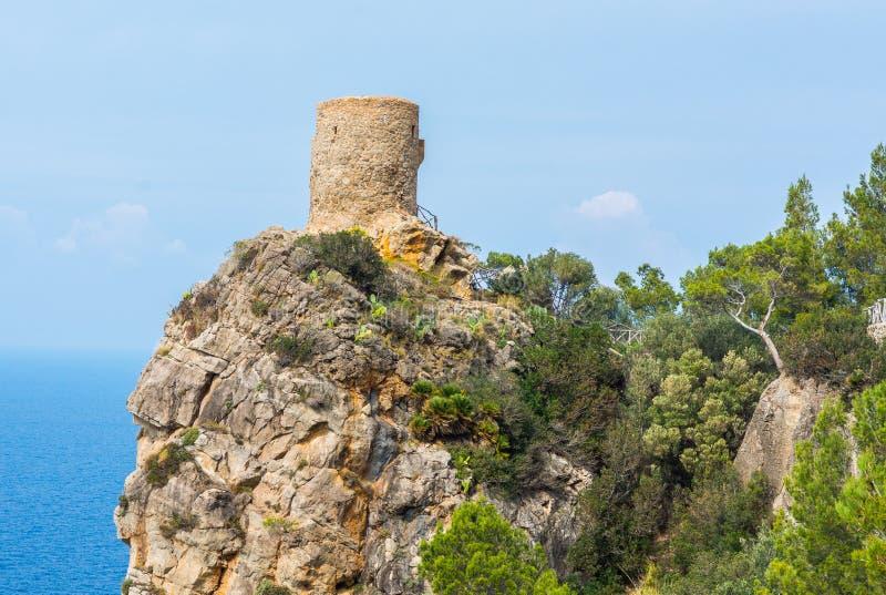 Torre des司事观点,马略卡 免版税库存图片
