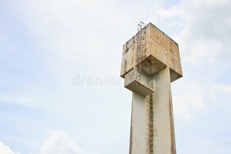 Torre di acqua fotografia stock