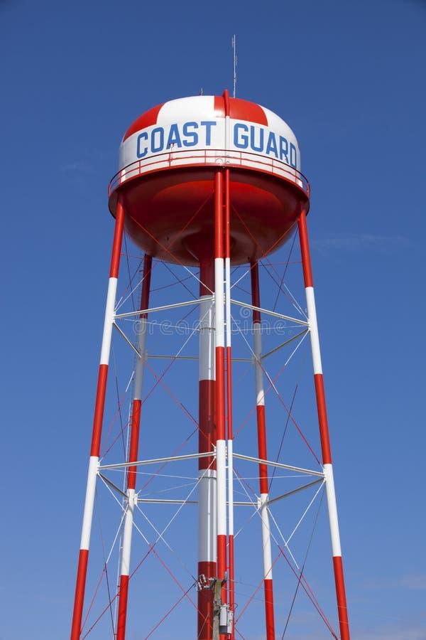 Torre di acqua della guardia costiera fotografia stock