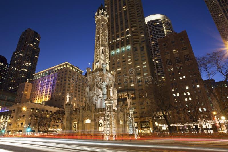 Torre di acqua di Chicago immagini stock