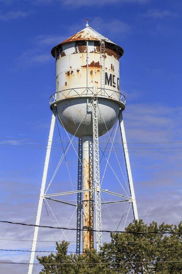 Torre di acqua di McClure fotografia stock