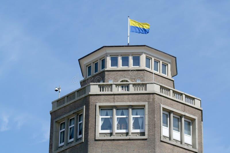 torre di acqua di Zandvoort fotografia stock libera da diritti