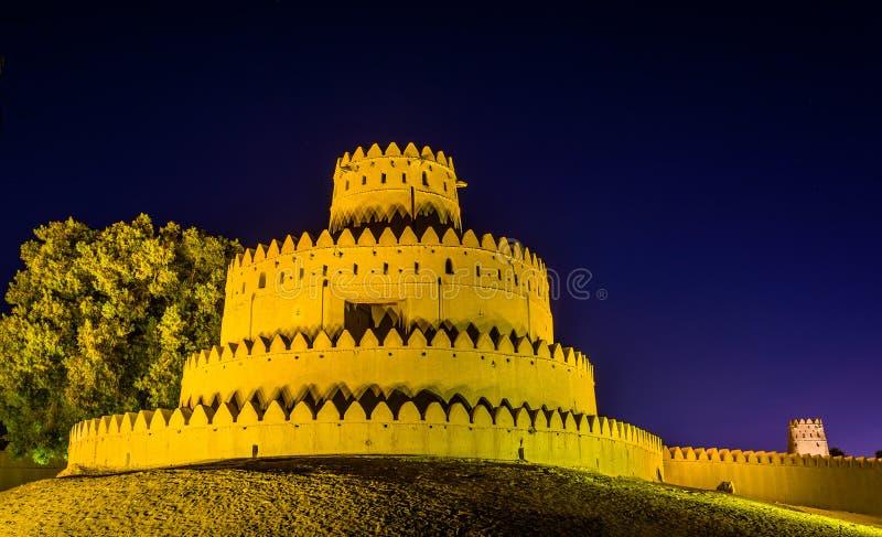 Torre di Al Jahili Fort in Al Ain immagine stock libera da diritti