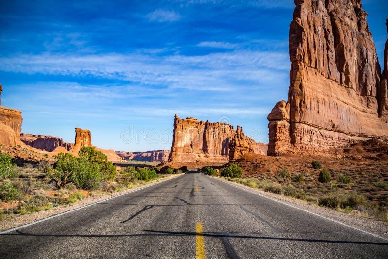 Torre di Babel Arches National Park fotografia stock libera da diritti