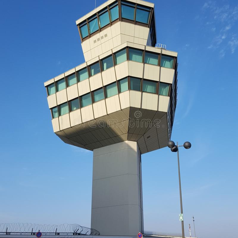 Torre di Berlino TXL dell'aeroporto immagine stock libera da diritti