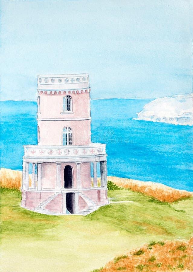 Torre di Clavell immagine stock