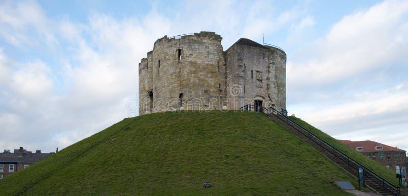 Torre di Cliffords a York immagini stock