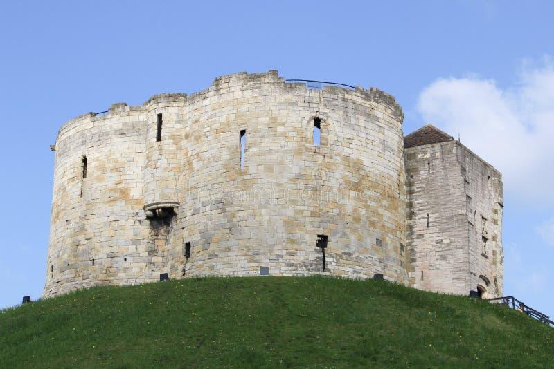 Torre di Cliffords a York Inghilterra immagine stock