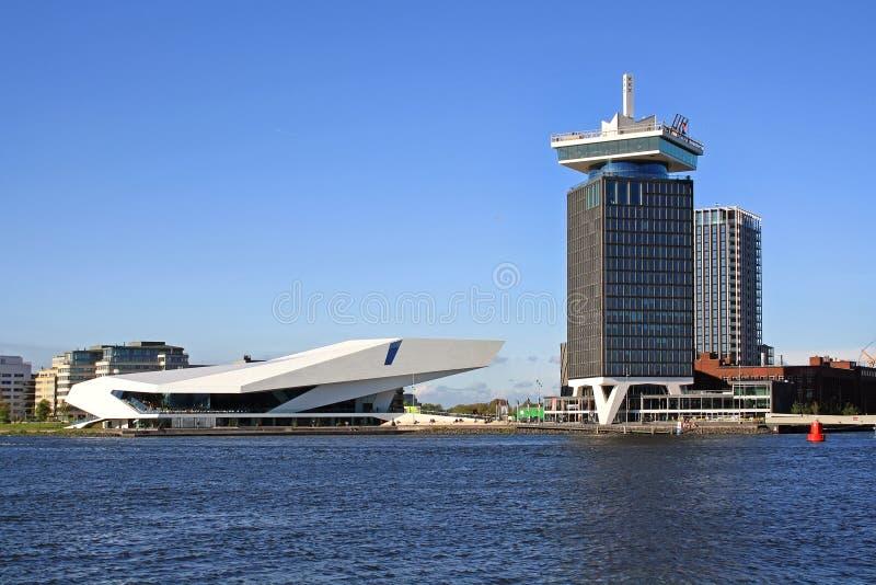 Torre di dam del ` dell'istituto cinematografico e di A dell'OCCHIO immagine stock libera da diritti