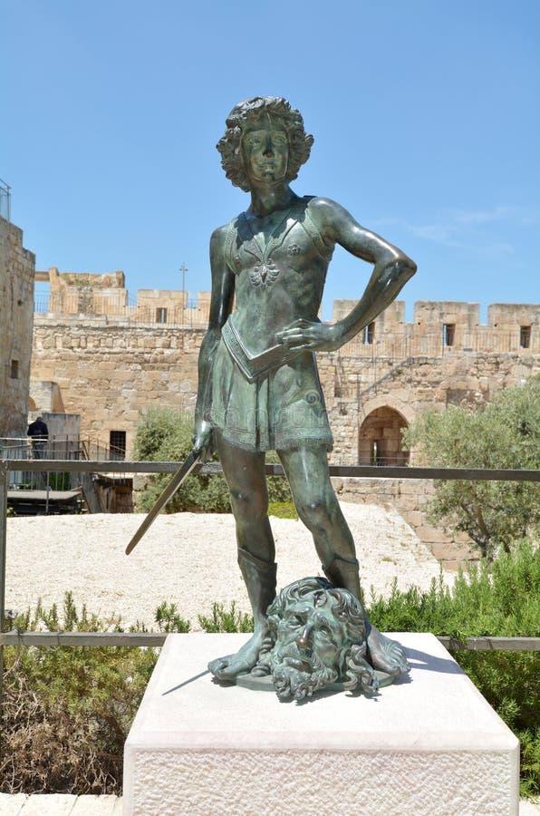 Torre di David Jerusalem Citadel - Israele fotografia stock libera da diritti