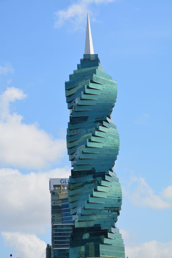 Torre di EL Tornillo F&F nel Panama fotografia stock