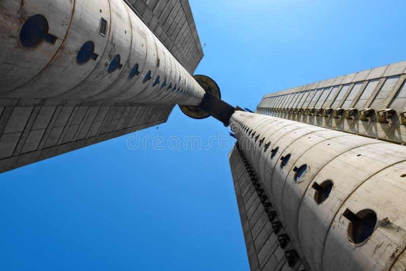 Torre di Genex, Belgrado, Serbia fotografie stock