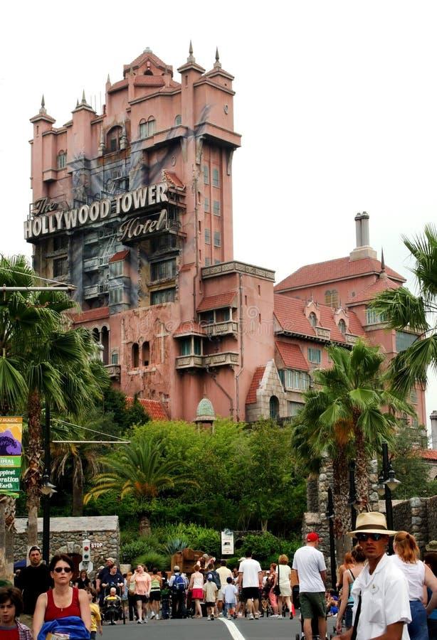 Torre di Hollywood del terrore fotografie stock