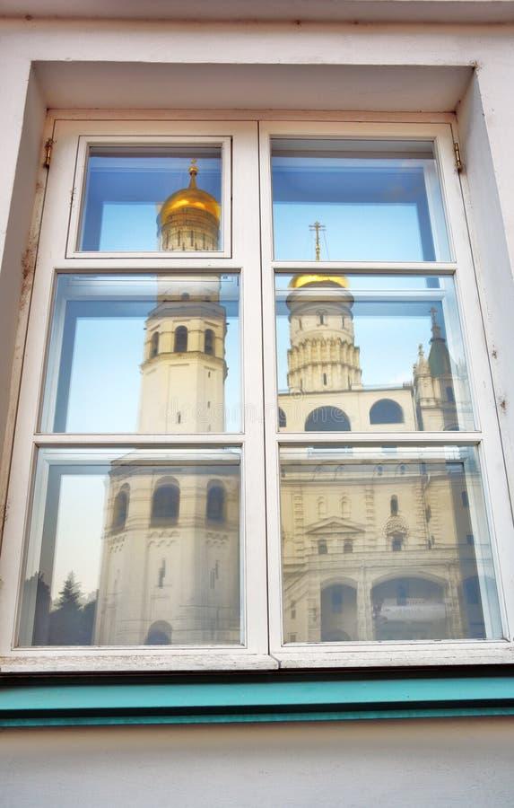 Torre di Ivan Great Bell del Cremlino di Mosca Luogo del patrimonio mondiale dell'Unesco immagini stock