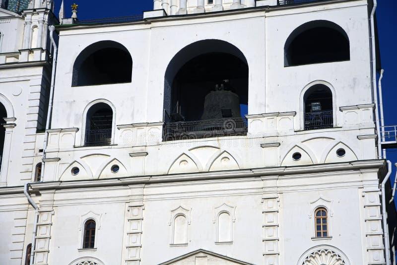 Torre di Ivan Great Bell del Cremlino di Mosca Luogo del patrimonio mondiale dell'Unesco immagine stock libera da diritti