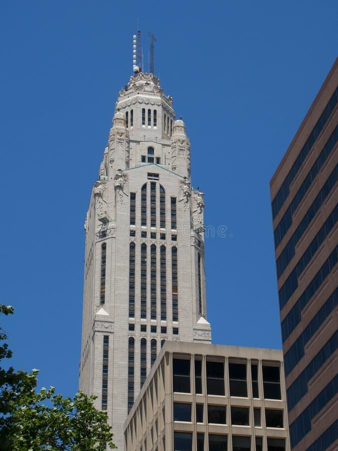 Torre di Leveque un chiaro giorno fotografia stock libera da diritti