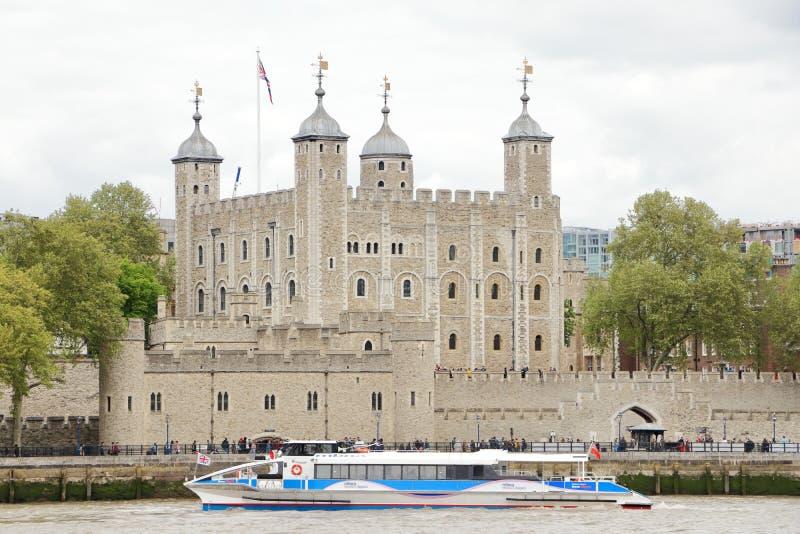 Torre di Londra per Kohinoor fotografia stock libera da diritti