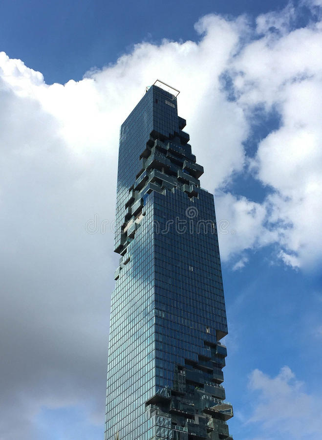 Torre di MahaNakhon fotografie stock