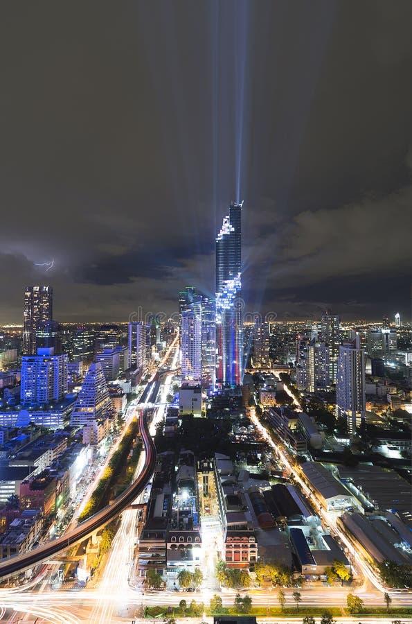 Torre di Mahanakorn immagine stock libera da diritti