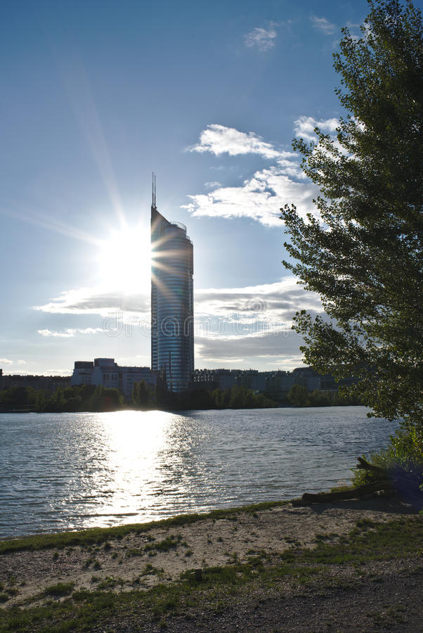 Torre di millennio immagini stock libere da diritti