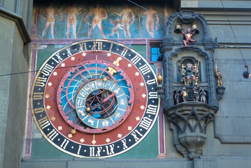 Torre di orologio a Berna fotografia stock libera da diritti