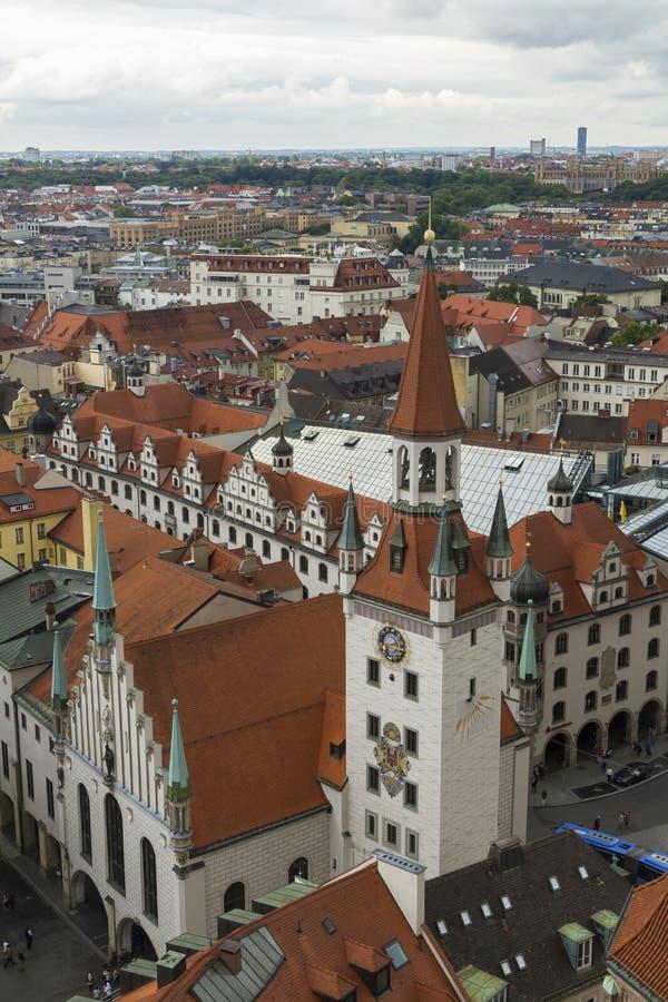Torre di orologio dello zodiaco, Monaco di Baviera immagini stock libere da diritti