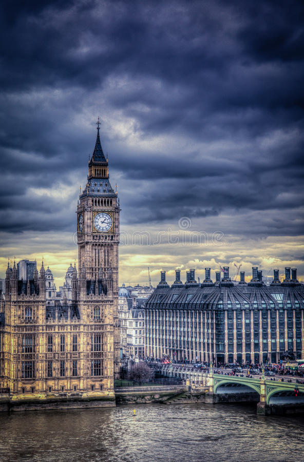 Torre di orologio di Big Ben immagine stock