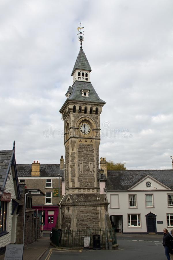 Torre di orologio, fieno sull'ipsilon fotografia stock libera da diritti