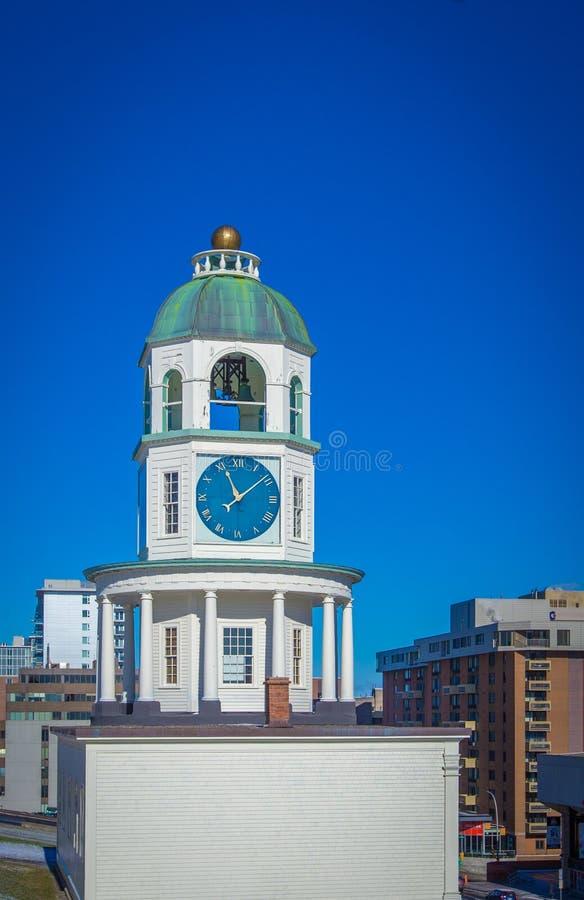 Torre di orologio Halifax fotografia stock libera da diritti