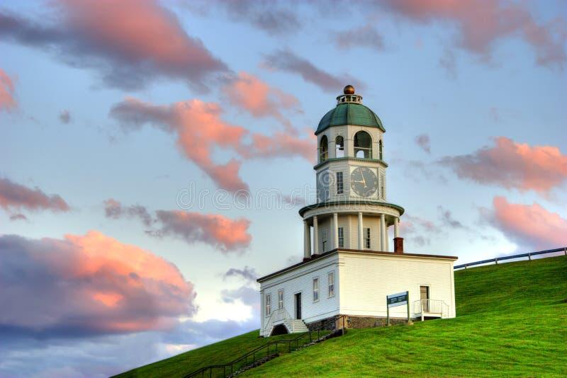 Torre di orologio di Halifax fotografie stock